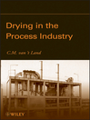 Drying in the Process Industry (eBook)